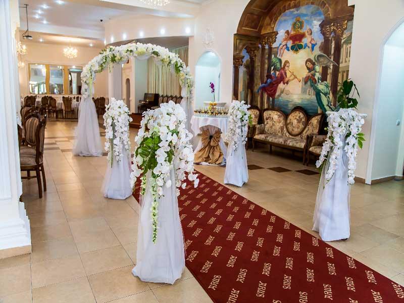 Wedding celebration with restaurant Arus
